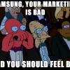 오마이뉴스] 삼성 스마트폰의 아이스버킷 챌린지가 불편한 이유